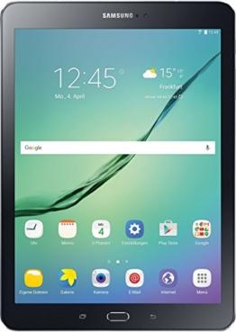 Samsung Galaxy Tab S2 T813 24,6 cm (9 7 Zoll) Wi Fi Tablet PC (2 Quad Core Prozessoren 1,8 GHz + 1,4GHz 3GB RAM Android) schwarz - 1