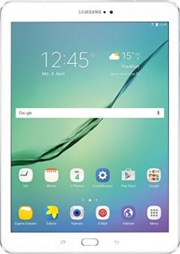 Samsung Galaxy Tab S2 T813 24,6 cm (9,7 Zoll) Wi-Fi Tablet-PC (2 Quad-Core Prozessoren, 1,8 GHz + 1,4GHz, 3GB RAM, 32GB eMMC, Android 6.0) weiß - 1