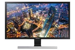Samsung U28E590D 71,12 cm (28 Zoll) Monitor (HDMI, 1ms Reaktionszeit, 60 Hz Aktualisierungsrate, 3840 x 2160 Pixel) Schwarz/Silber - 1