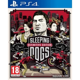 Sleeping Dogs Limited Edition DEFINITIVE EDITION PlayStation 4 PS4 - 1