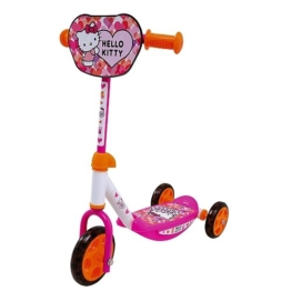 Smoby 750104 - Hello Kitty Scooter Roller, 3 Räder Dreirad - 1
