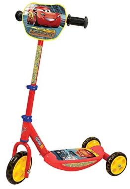 Smoby 750154 - Cars Roller, 3 Räder - 1