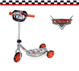 Smoby - Cars - Kickscooter - Tretroller mit drei Rädern - 1