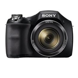 """Sony  Einstiegsbridge DSC-H300 (20.1 MP CCD Sensor (effektiv), 25mm Weitwinkel-Objektiv, Optischer Bildstabilisator """"SteadyShot""""HD) schwarz - 1"""
