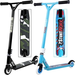 Stunt Scooter Tretroller Freestyle Freestylescooter Cityroller Kinderroller - 1