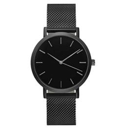 Sunnywill Frauen Mädchen Damen Schöne Mode Kristall Edelstahl Analoge Quarz Armbanduhr Uhr für Weibliche Studenten - 1