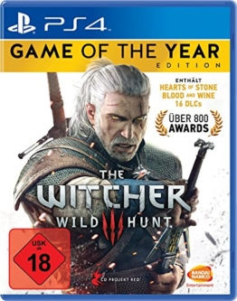 The Witcher 3: Wild Hunt - Game of the Year Edition - [PlayStation 4] - 1
