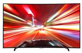 Thomson 78UA8796 198 cm (78 Zoll) Curved Fernseher (Ultra HD, Triple Tuner DVB-T2 HEVC H.265, 3D, Smart TV) - 1