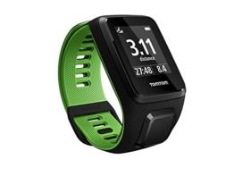 TomTom Runner 3 Cardio GPS-Sportuhr (Eingebauter Herzfrequenzmesser, Routenfunktion, Multisport-Modus, 24/7 Aktivitäts-Tracking) - 1