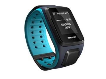 TomTom Sportuhr Runner 2 Musik GPS Uhr, blau, L, 1REM.001.01 - 1