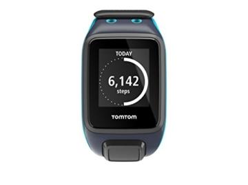 TomTom Sportuhr Runner 2 Musik GPS Uhr, blau, L, 1REM.001.01 - 2