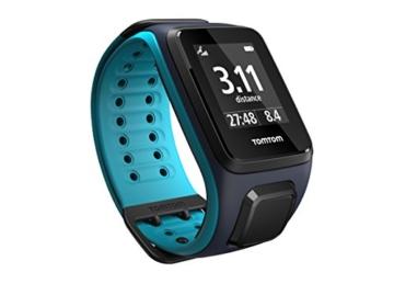 TomTom Sportuhr Runner 2 Musik GPS Uhr, blau, L, 1REM.001.01 - 3
