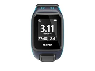 TomTom Sportuhr Runner 2 Musik GPS Uhr, blau, L, 1REM.001.01 - 6