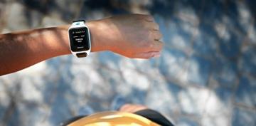 TomTom Sportuhr Runner 2 Musik GPS Uhr, blau, L, 1REM.001.01 - 7