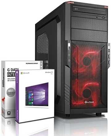 Ultra 8-Kern DirectX 12 Gaming-PC Computer FX 8320E 8x4.00 GHz Turbo - GeForce GTX1050Ti 4GB DDR5 - 16GB DDR3 1600 - 1TB HDD - Windows10 Prof - DVD±RW #5276 - 1
