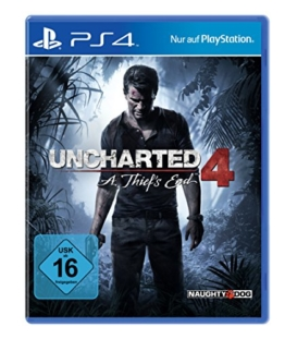 Uncharted 4: A Thief's End [PlayStation 4] - 1