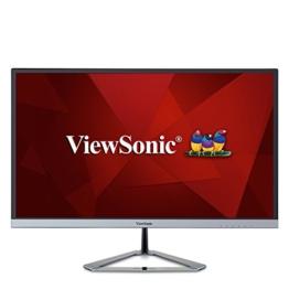 Viewsonic VX2476-SMHD 60,5 cm (24 Zoll) Design Monitor (Full-HD, IPS-Panel, HDMI, DP, Lautsprecher) Silber-Schwarz - 1