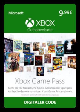 Xbox Game Pass   1 Monat Mitgliedschaft   Xbox Live Download Code - 1